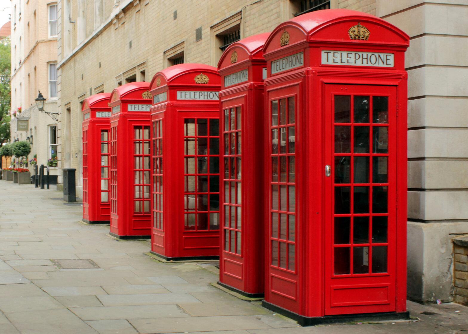Червона телефонна будка отримала статус архітектурного об'єкта