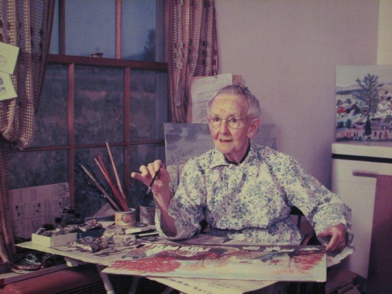 8 художниць, які стали відомі після своїх 80 років