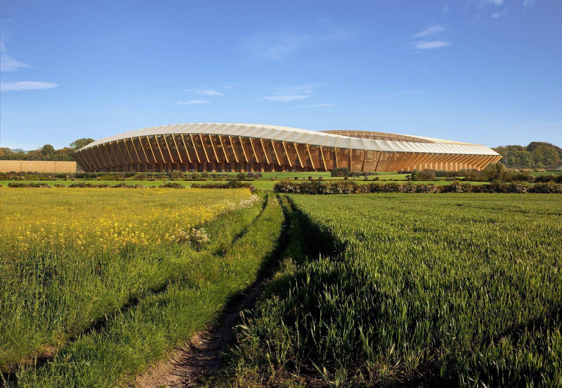 В Англії побудують найекологічніший стадіон