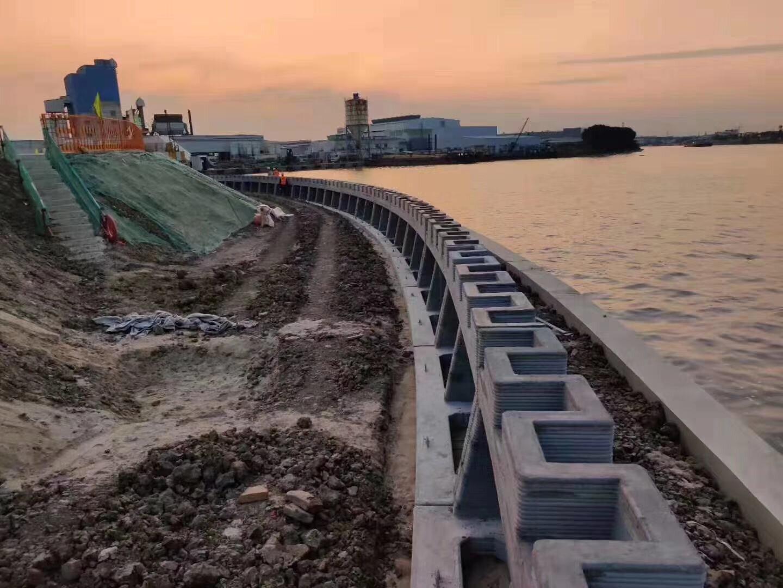 У Китаї надрукували стіну для захисту від повеней на 3D-принтері