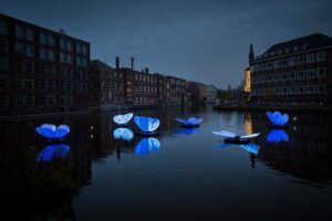Amsterdam Light Festival у 12 світлинах