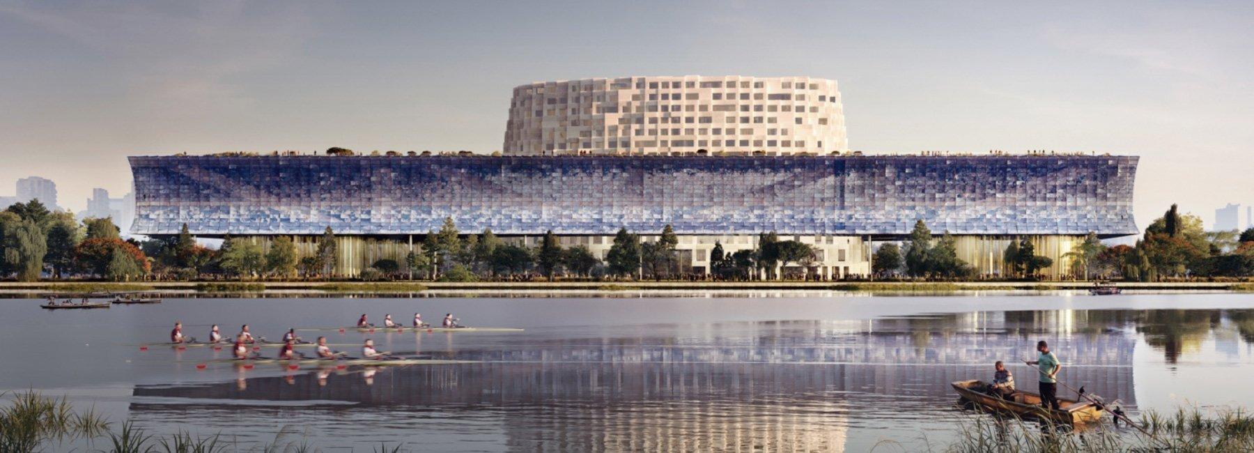 У Китаї вибрали переможний проєкт майбутнього мистецького центру