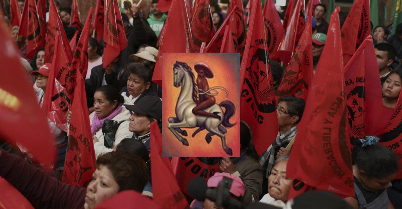 Революціонер Еміліано Сапата зображений без одягу та в туфлях на підборах