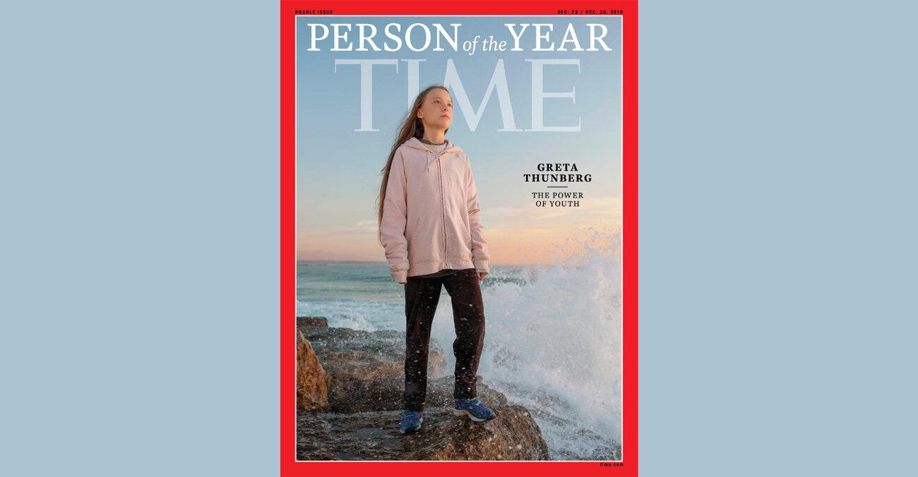 Журнал Time назвав Ґрету Тунберґ «Людиною року»