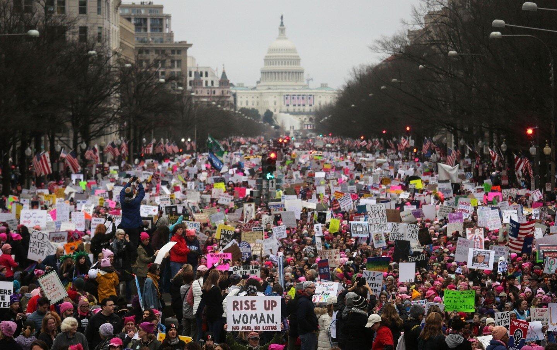 Національний музейний архів США вибачився за ретуш світлин з Жіночого Маршу