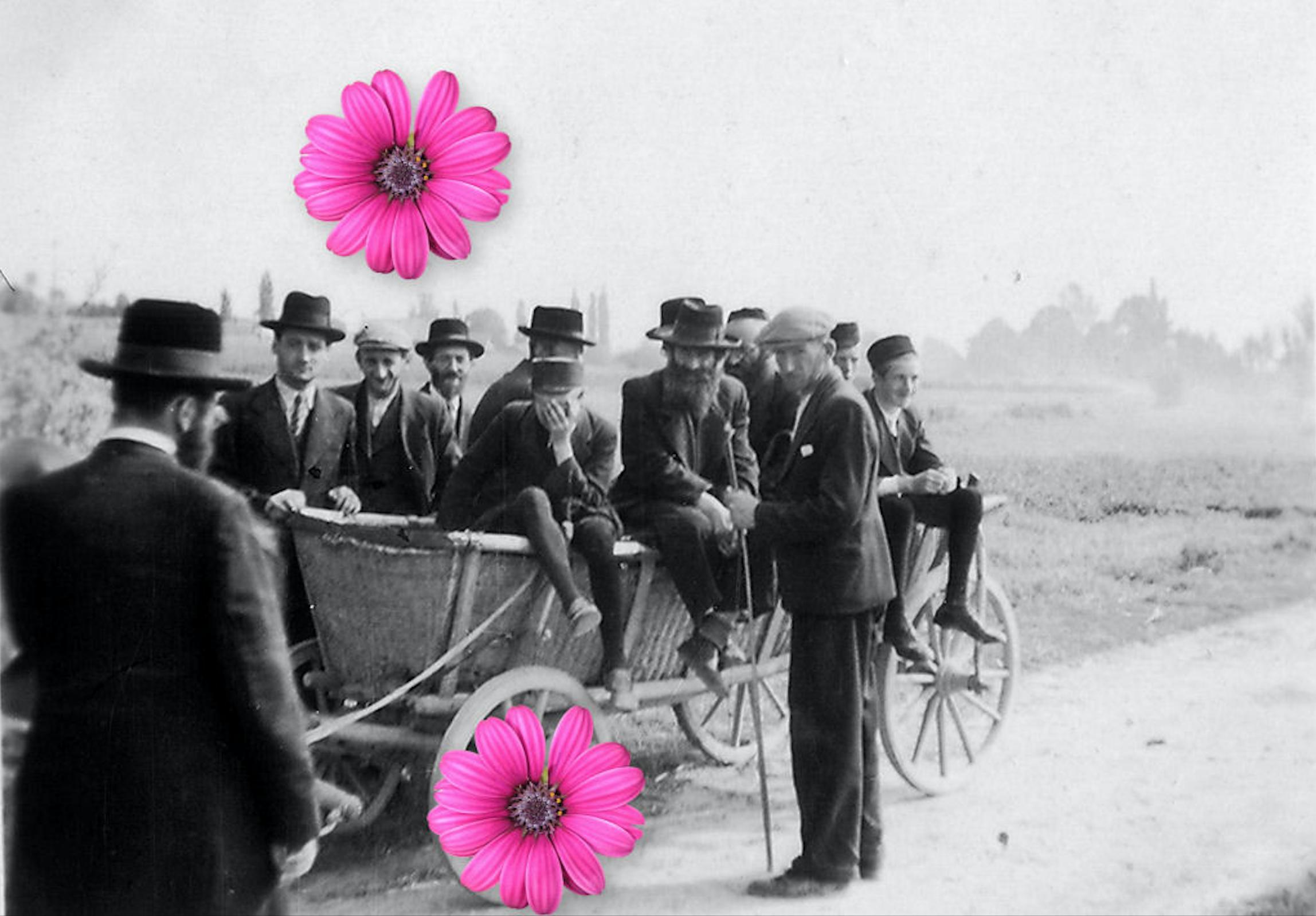Продається цікаве старе фото (звісно без квітів на зображенні)