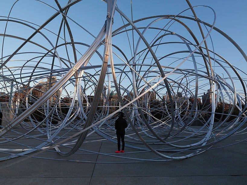 У Нью-Йорку відкрилася інсталяція Ентоні Гормлі New York Clearing