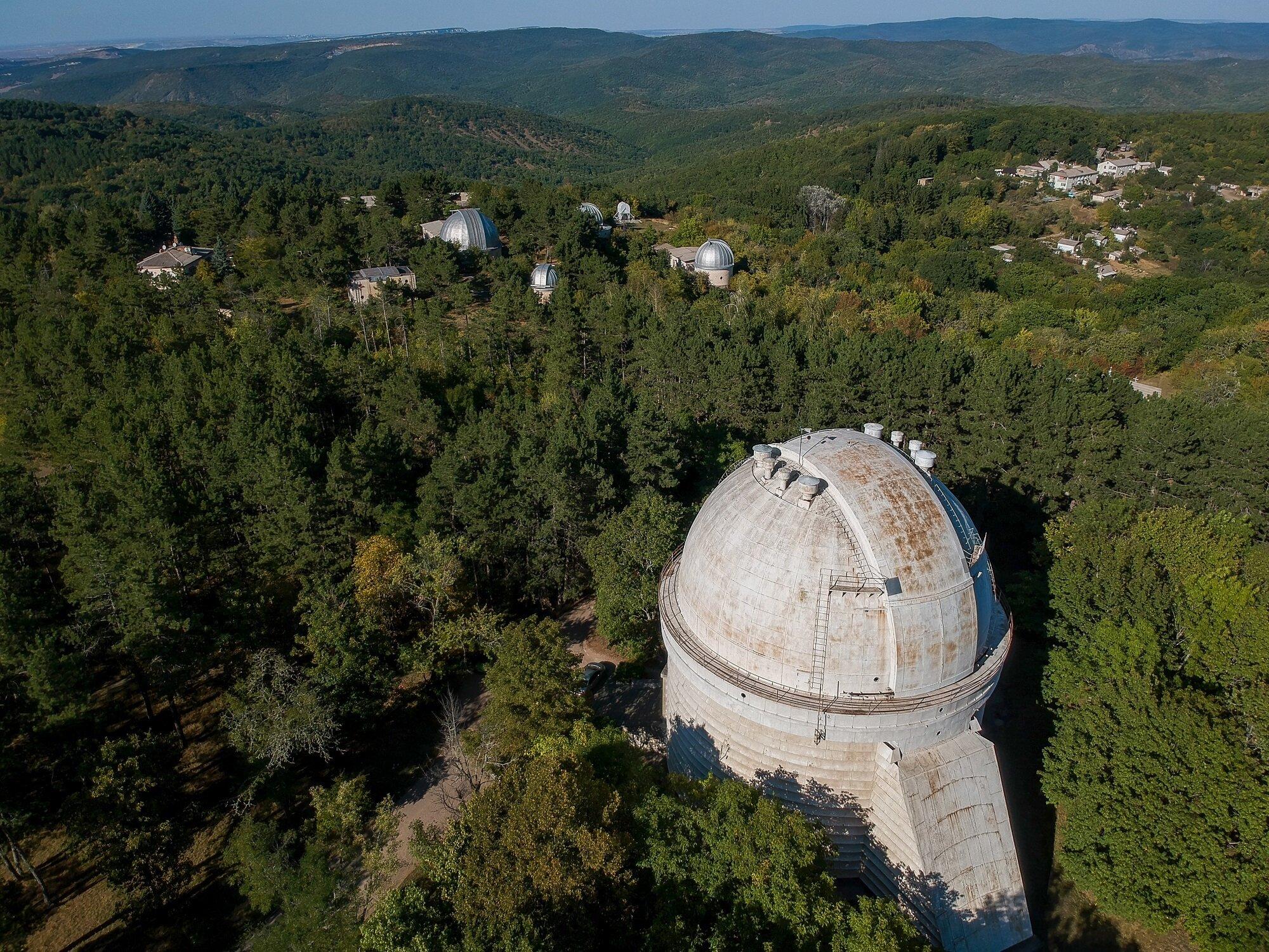 На території Кримської обсерваторії збудують десятиповерхівку