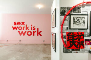 У Нью-Йорку відкрилася pop-up виставка про секс-працівників