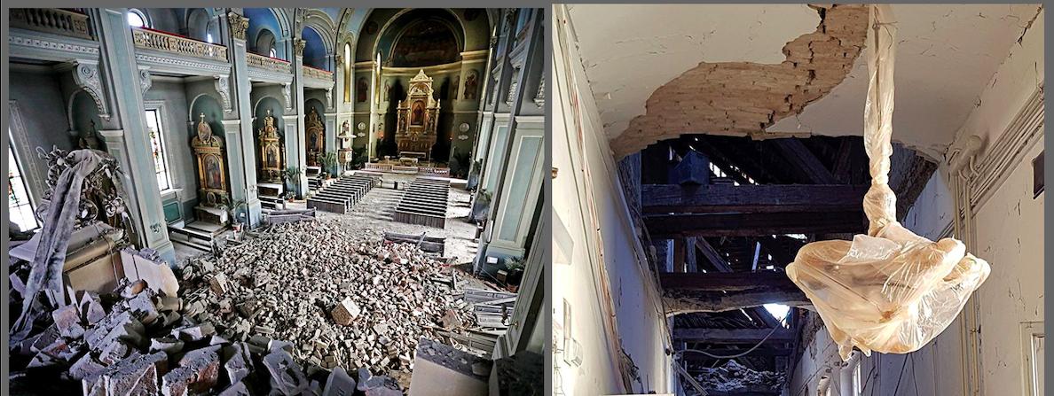 У Загребі землетрус зруйнував Кафедральний собор та Музей мистецтв і ремесел