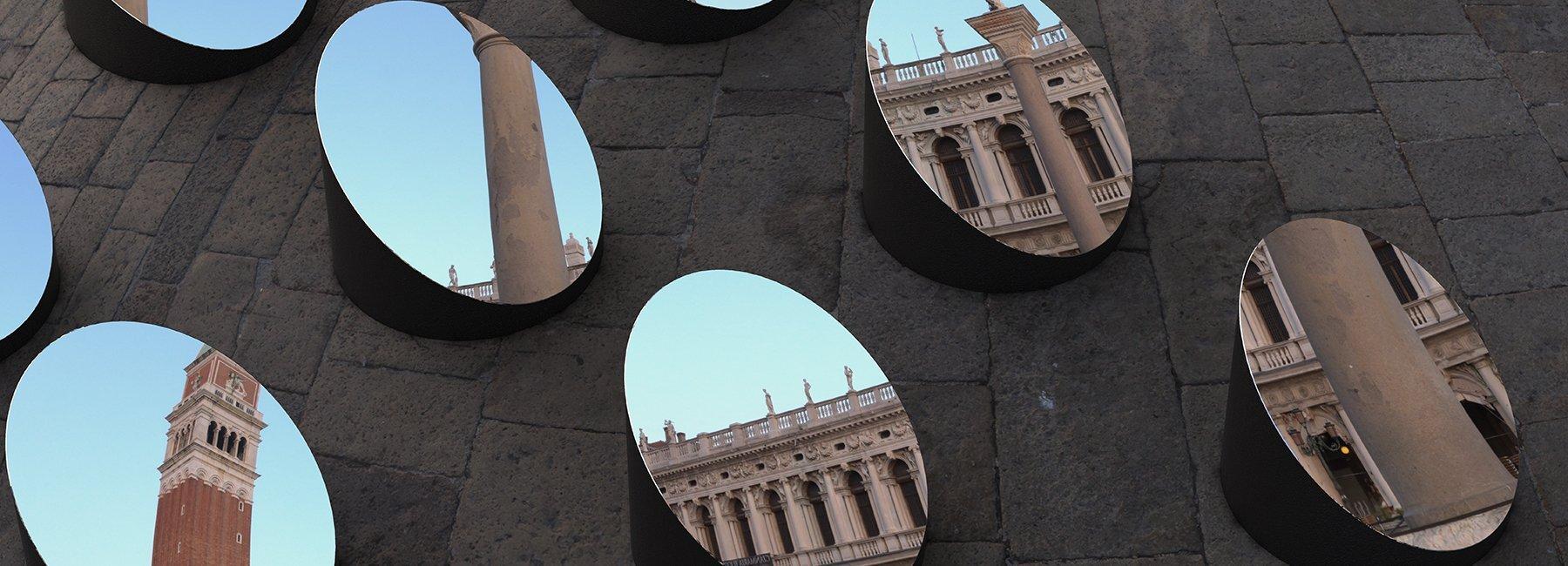 Французький дизайнер створив оптичну ілюзію в центрі Венеції