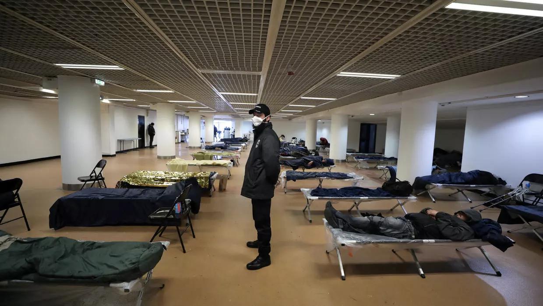 Павільйон Каннського кінофестивалю переоблаштували для безхатьків