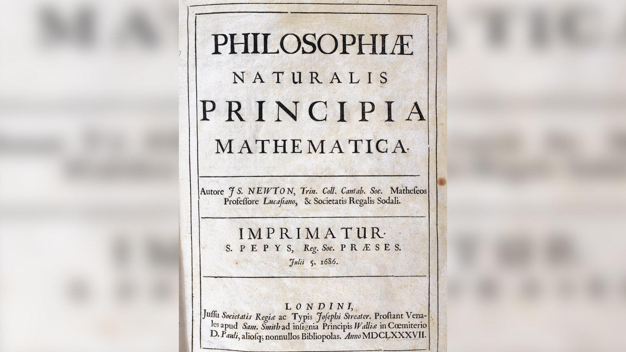 На Корсиці знайшли перше видання книги Ісаака Ньютона