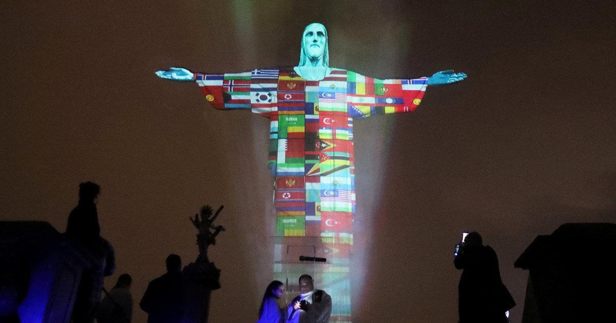 У Ріо-де-Жанейро підтримали жителів країн, що постраждали від коронавірусу