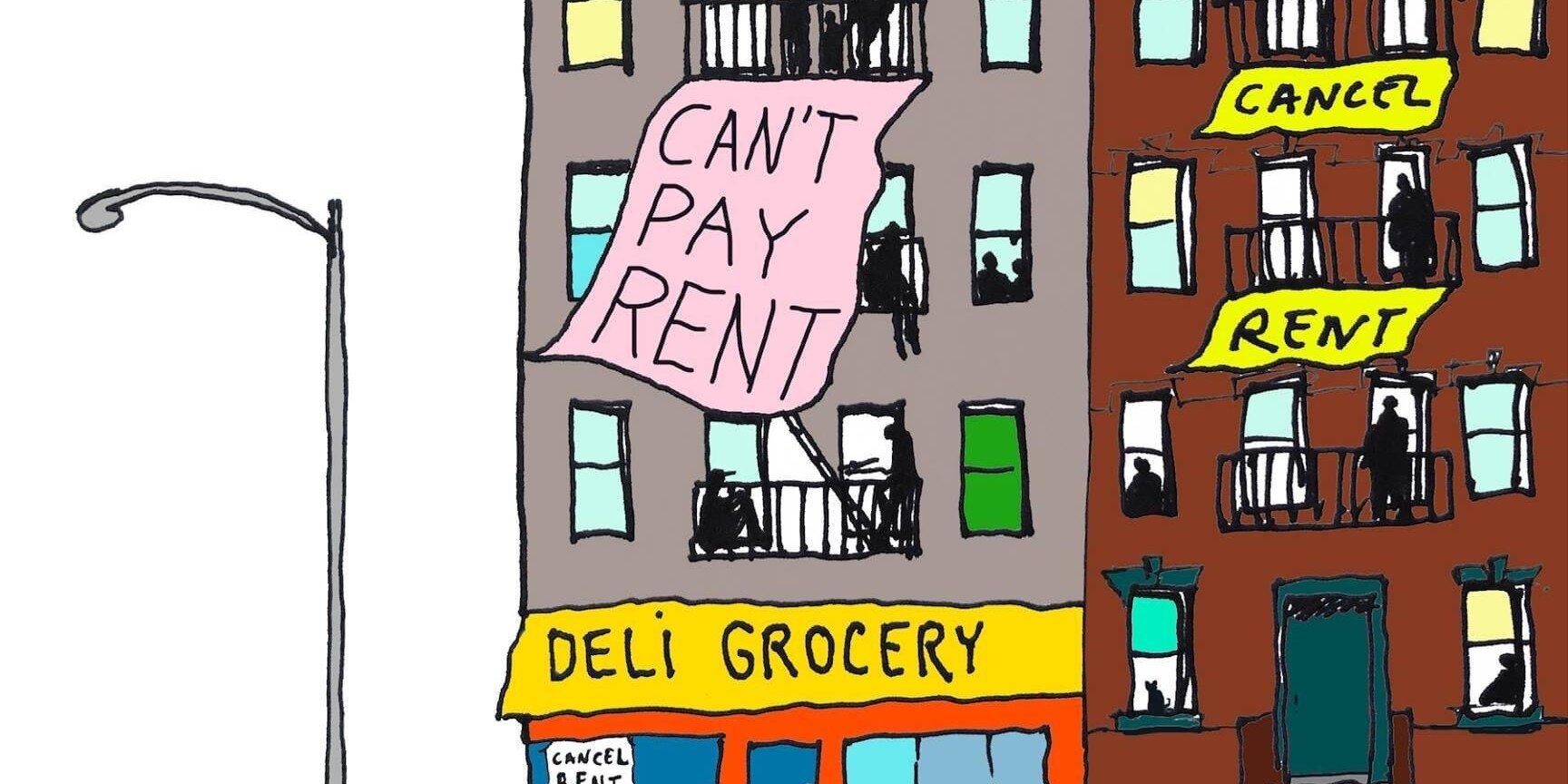 Нью-йорківці почали бойкот проти орендодавців