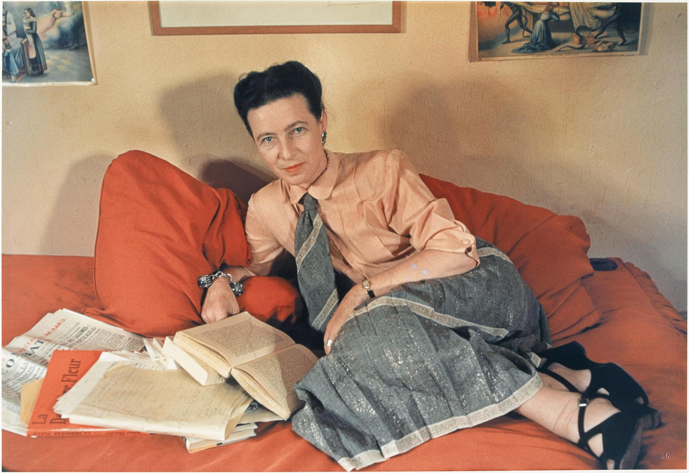 У Франції опублікують невиданий досі роман Симони де Бовуар