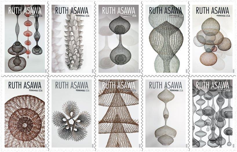 Поштова служба США випустить марки на честь Рута Асави