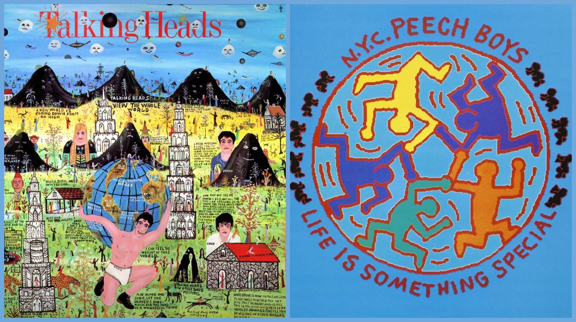11 обкладинок альбомів, оформлених художниками: від Кіта Харінга до Джоша Клайна
