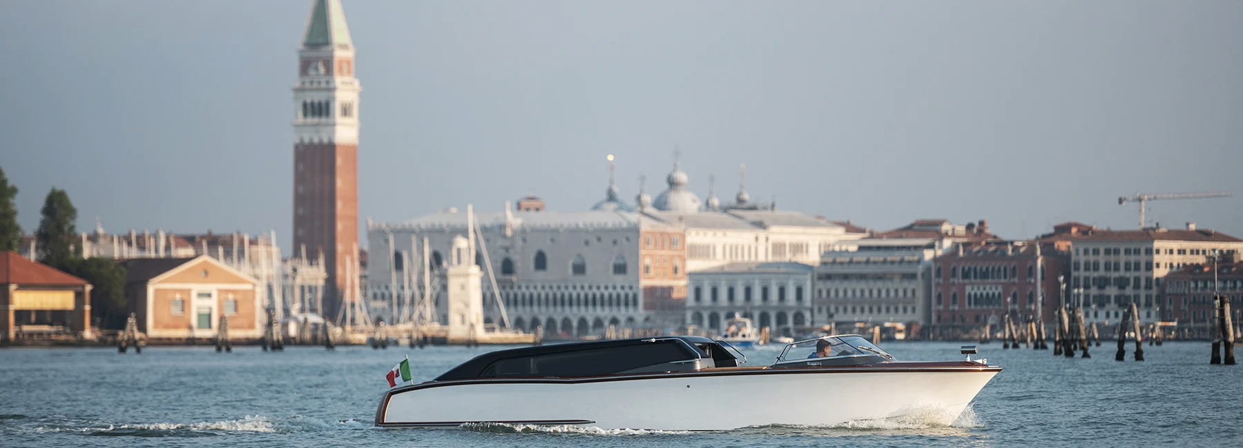 У Венеції їздитиме екологічне водне таксі