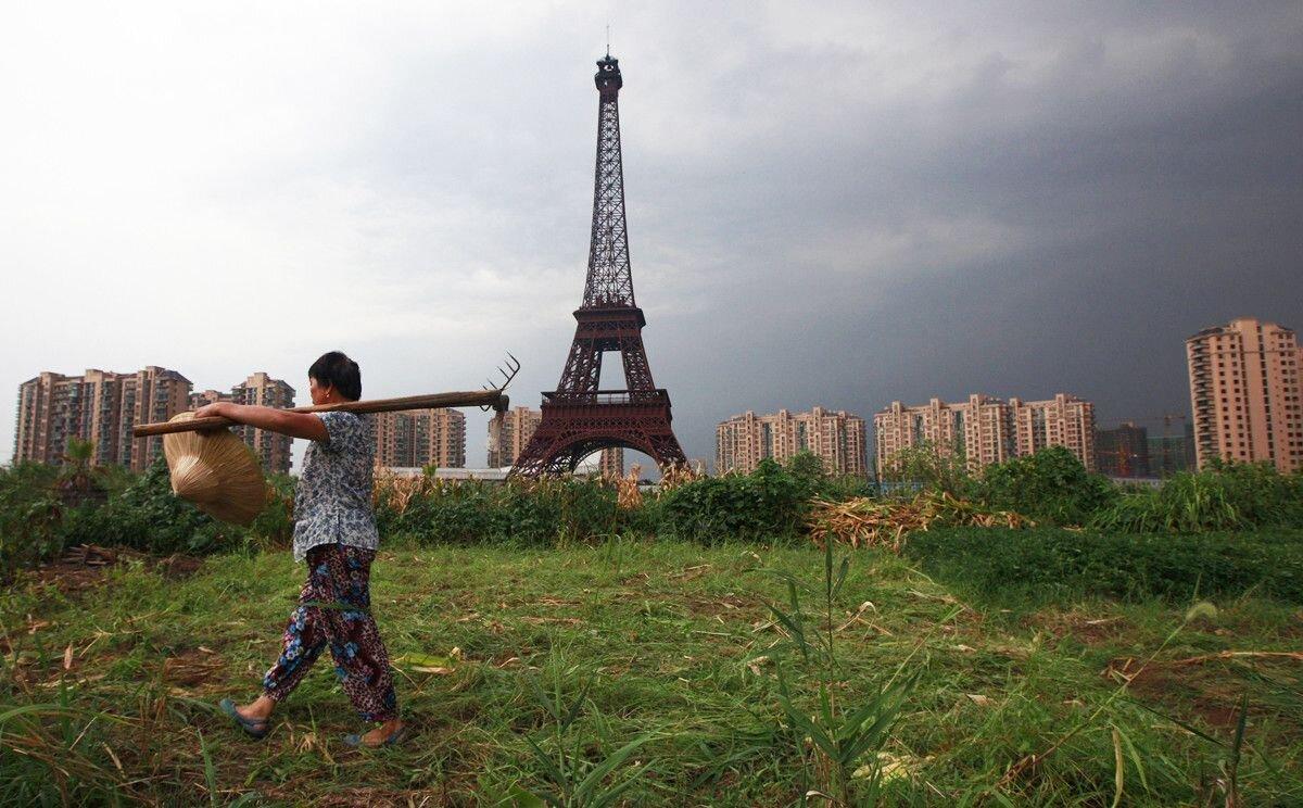 Китайський уряд заборонив повторювати архітектурні будівлі інших країн