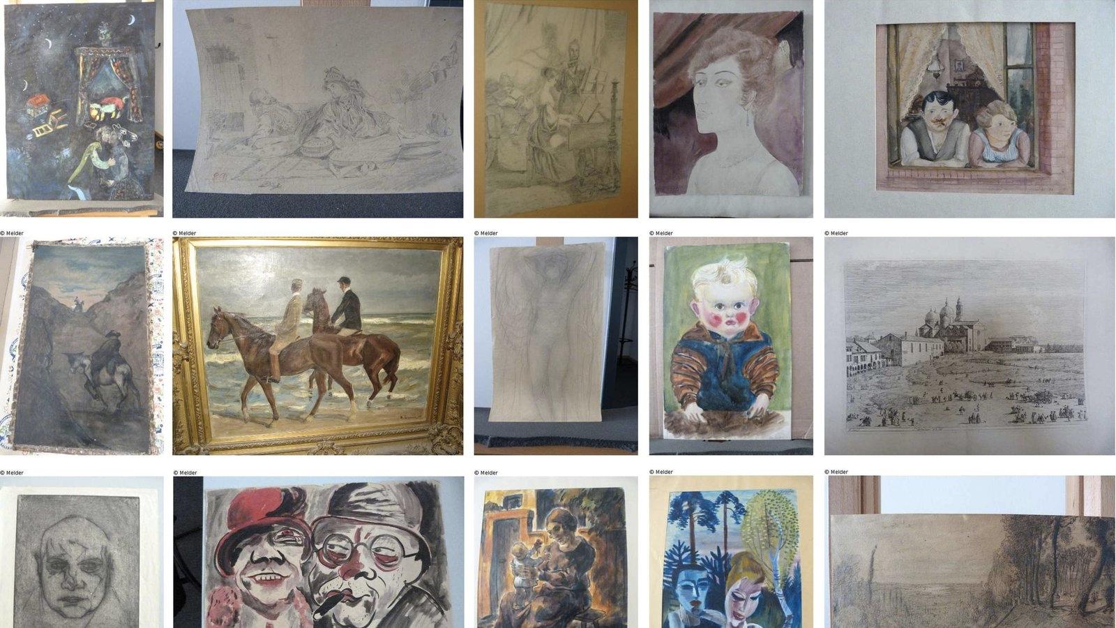 Дослідники не можуть визначити походження картин нацистського колекціонера