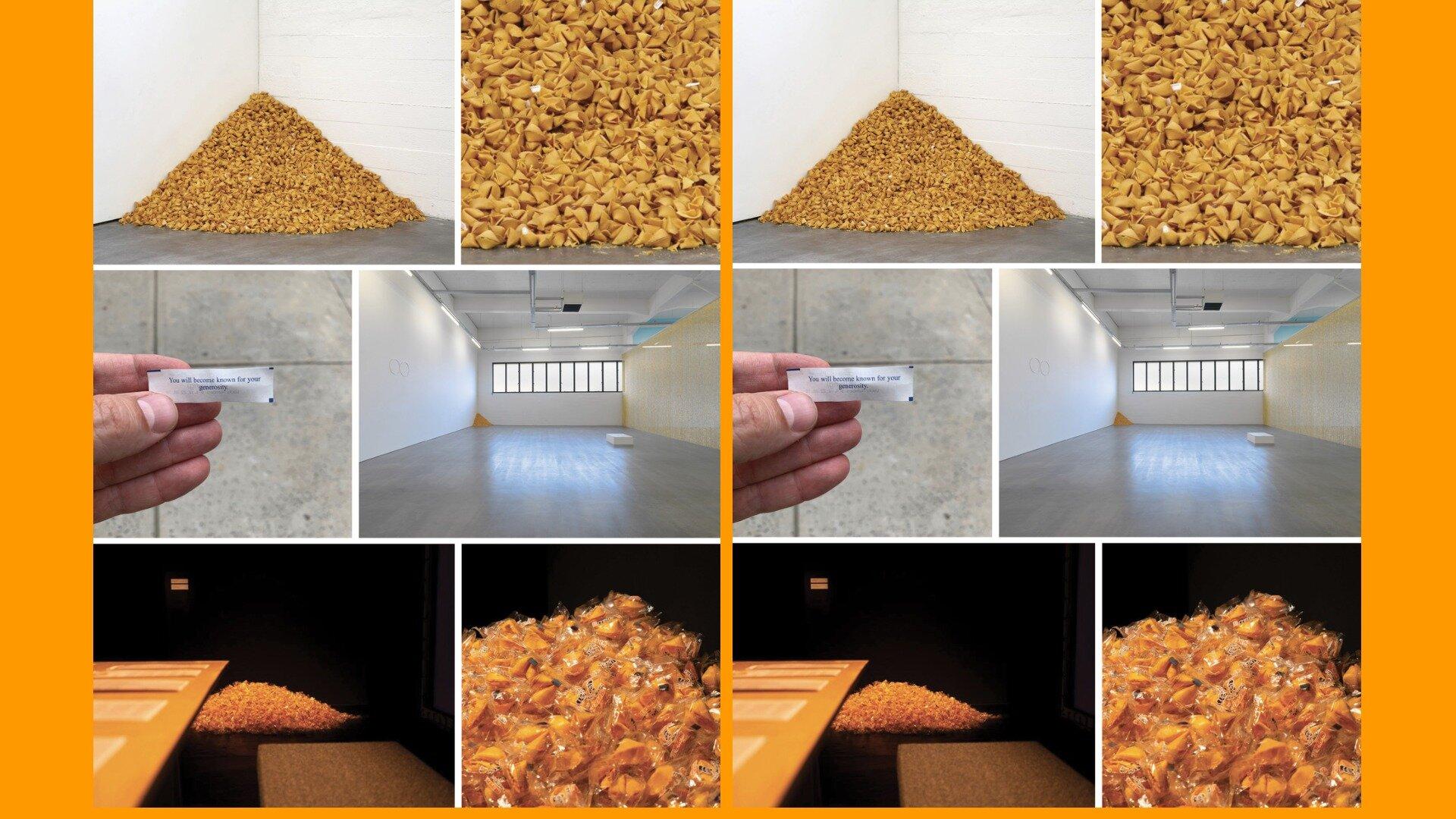 Роботу Фелікса Гонзалеса-Торреса зробили з печива з передбаченнями