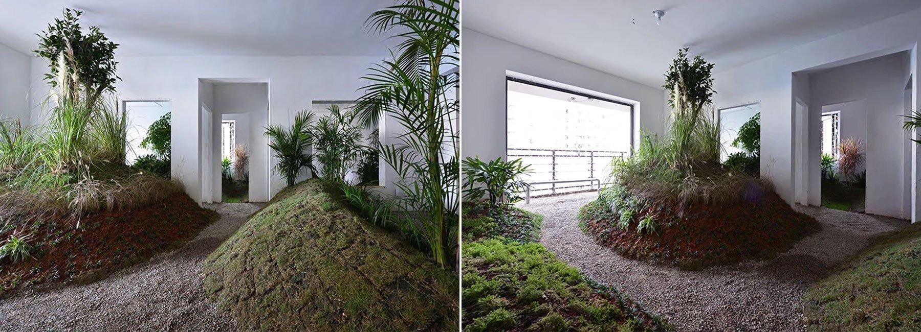 Дизайнери перетворили квартиру на парк