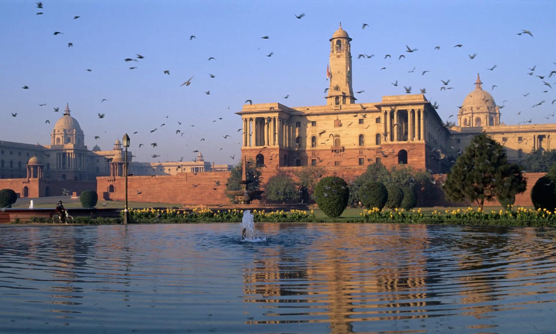 В Індії хочуть знищити оригінальну будівлю парламенту