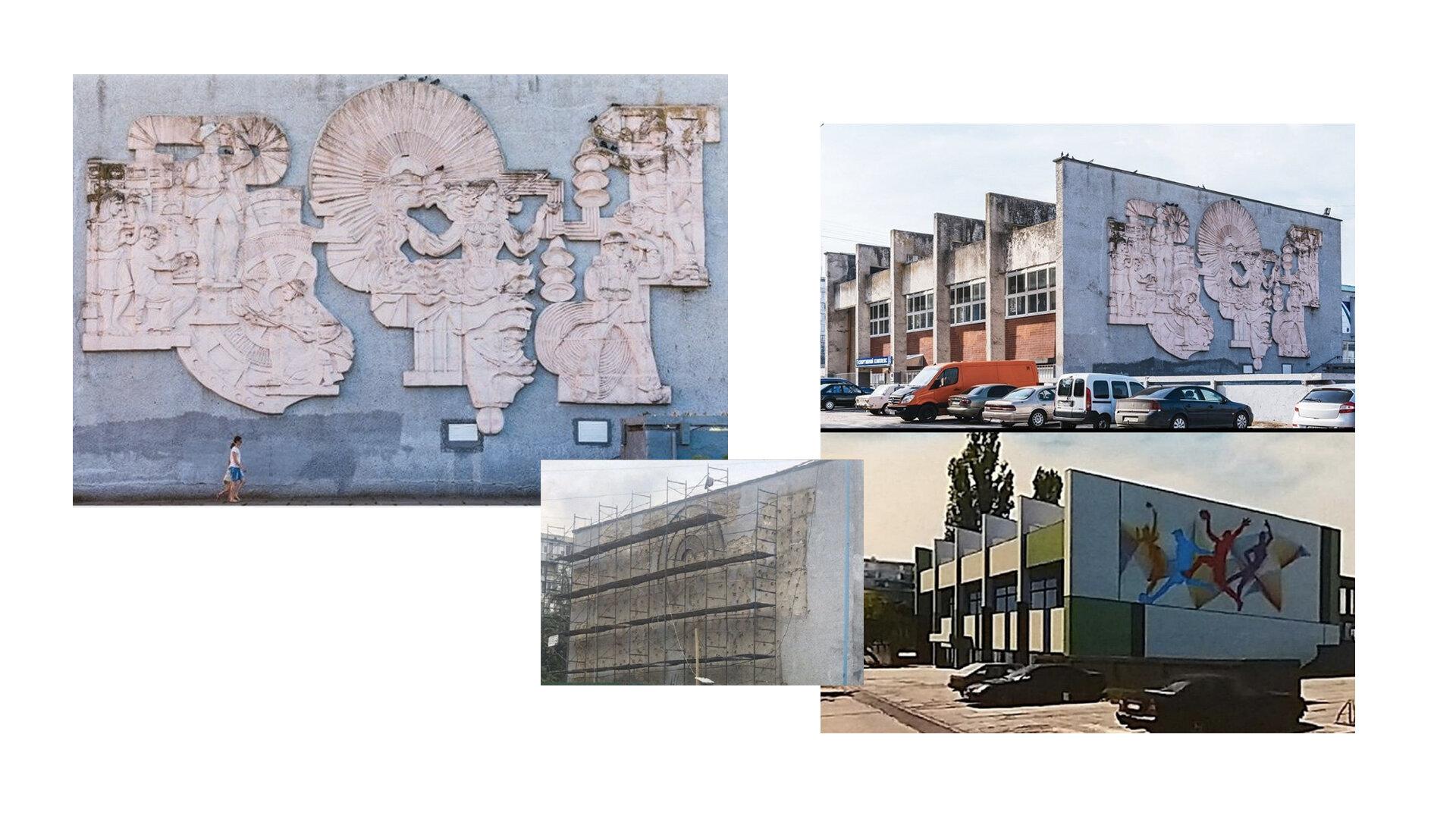 Зруйнований барельєф в Українці можна відновити