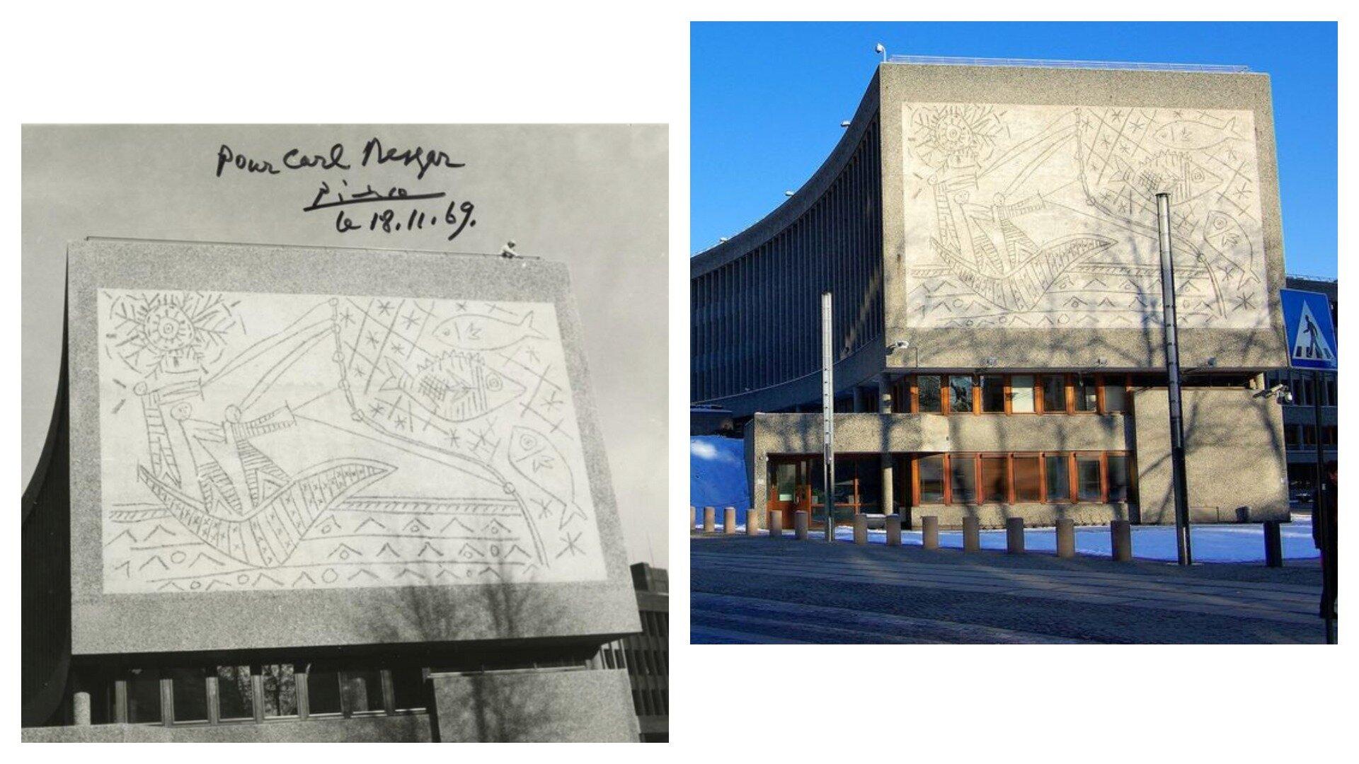 У Норвегії знищать сграфіто Пабло Пікассо