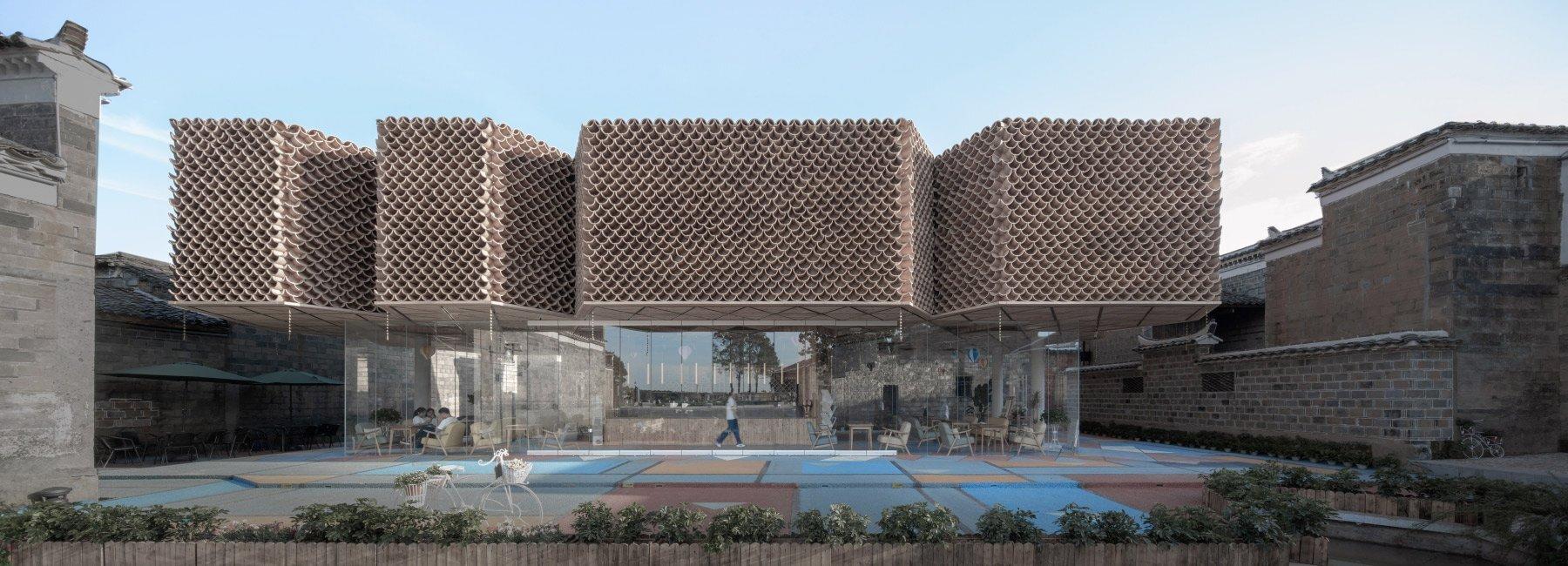 У Китаї закинуте село перетворили на арт-простір