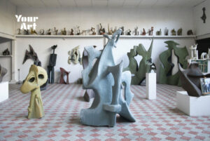 Музей модерної скульптури Михайла Дзиндри: гніздо модернізму обабіч культурно-туристичної столиці