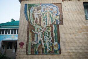 У Вінниці знищили мозаїчне панно