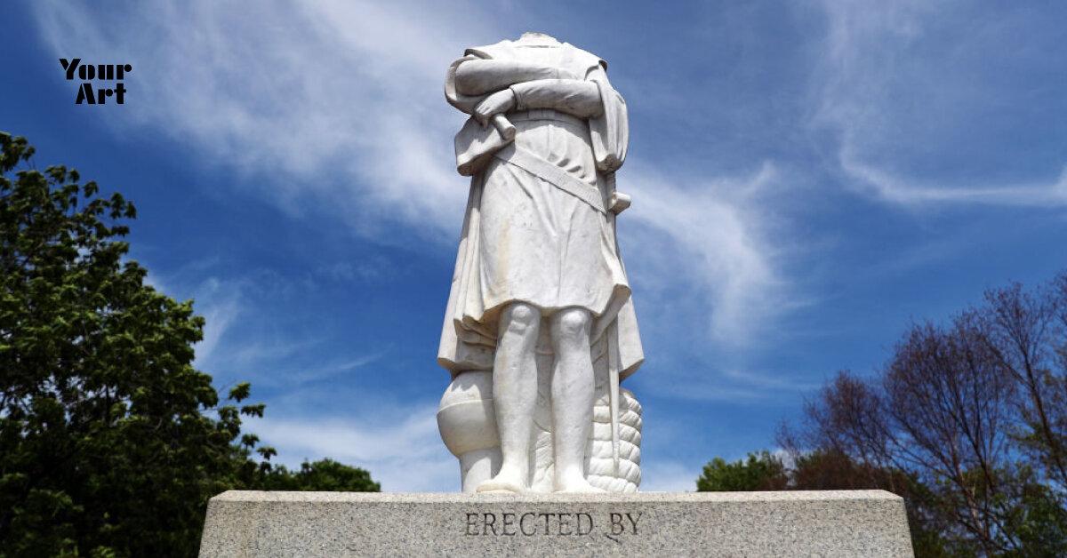 У США почали скидувати статуї Христофора Колумба