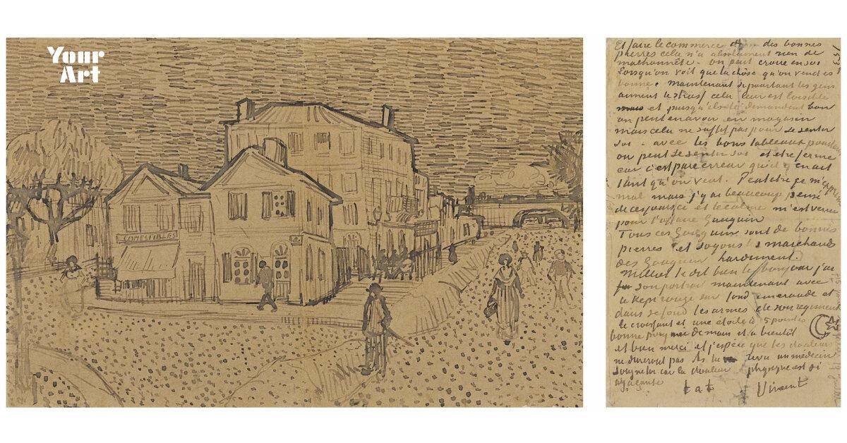 Музей ван Гога купив лист художника про борделі