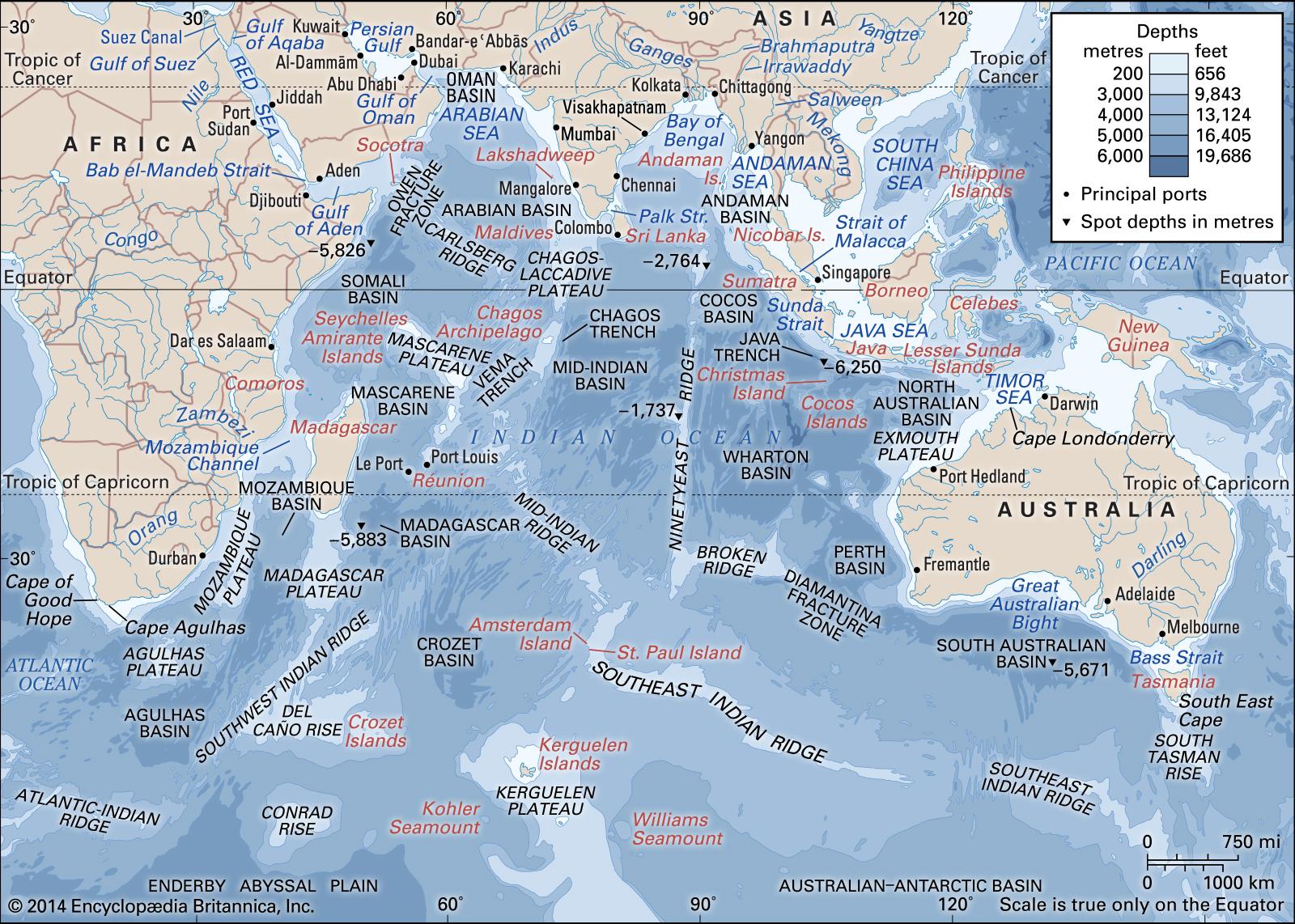 В Індійському океані може з'явитись новий континент