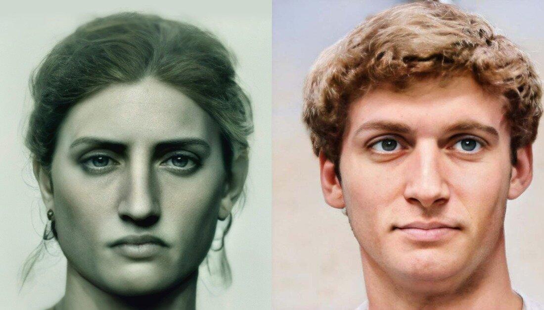 Нейромережа створила реалістичні портрети скульптур та картин