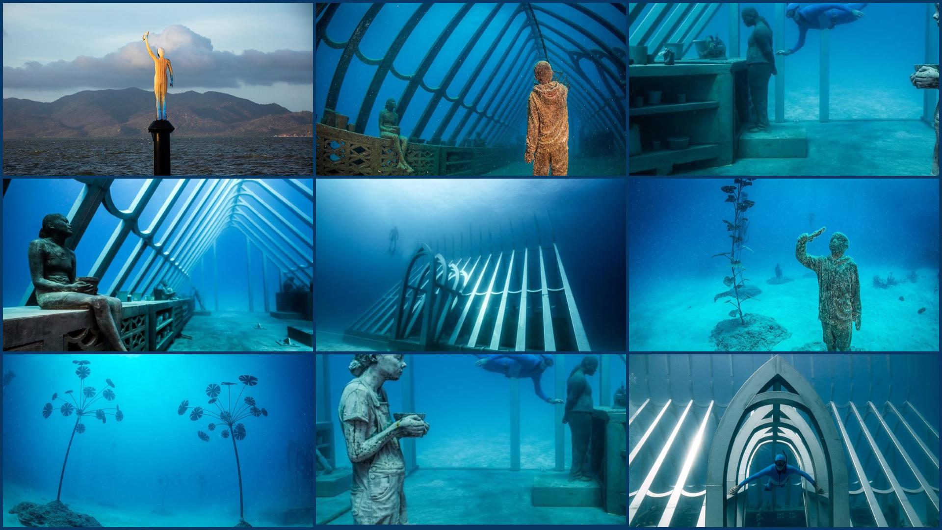 На Великому бар'єрному рифі влаштували підводну виставку