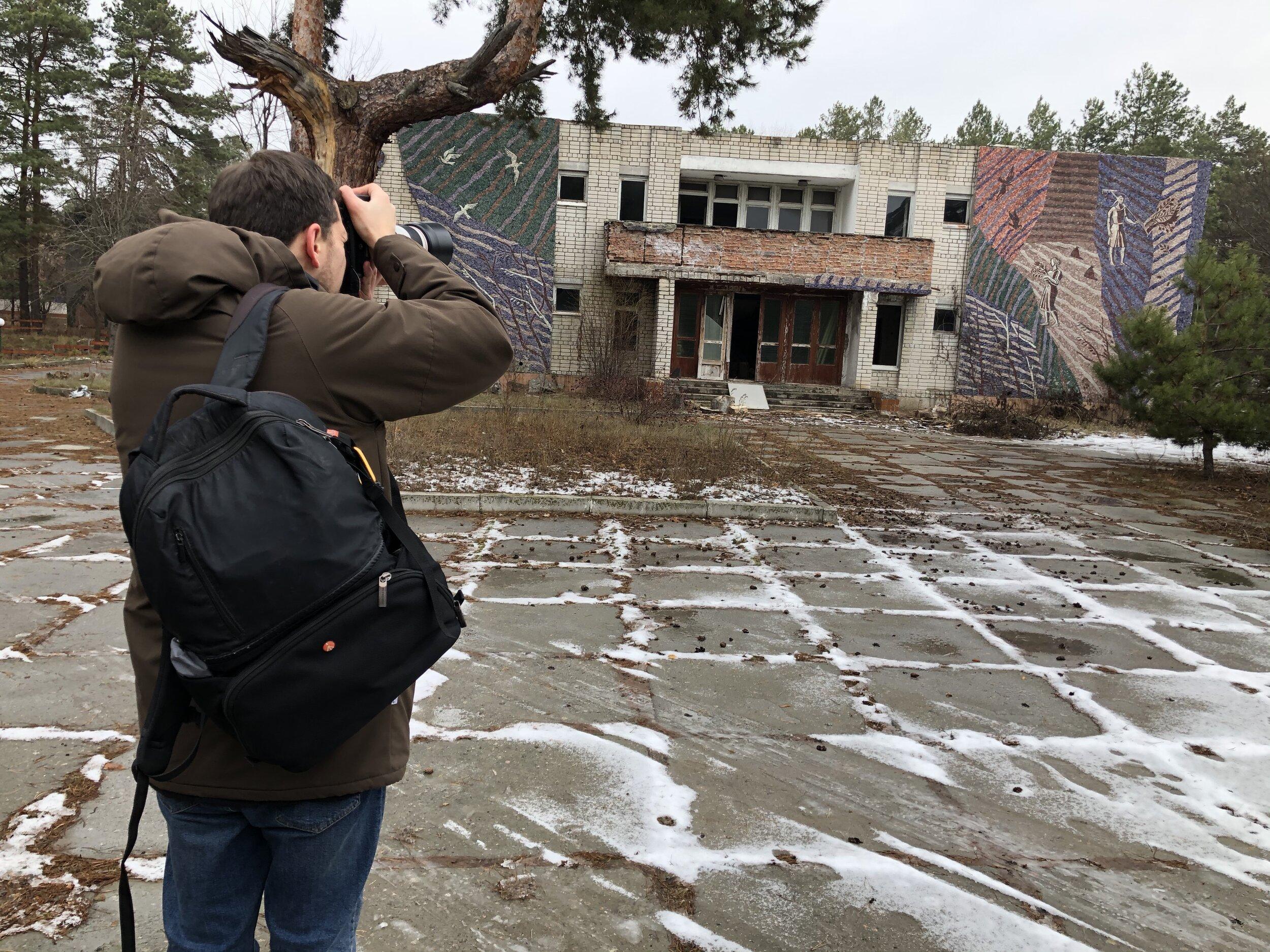 Євген Нікіфоров: «Я знімаю зміни простору, символи змін. Зміни — це про зараз»