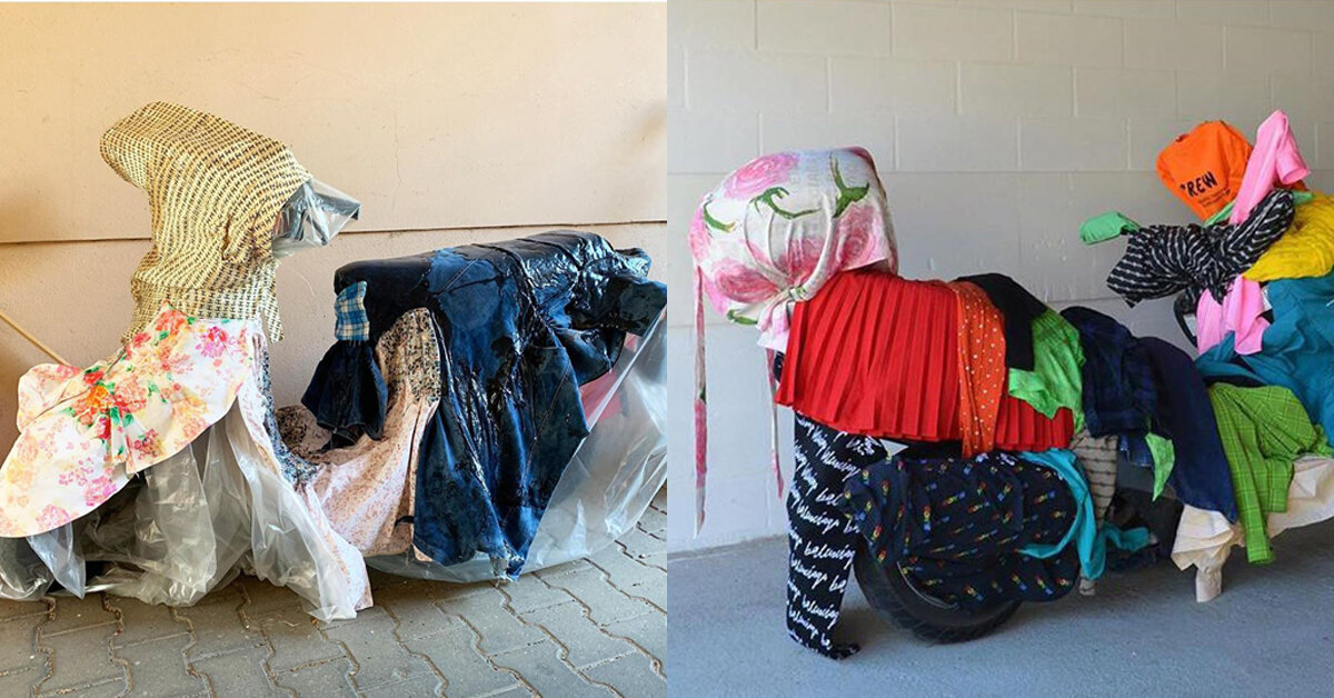 Balenciaga вкрав ідею фотосесії у молодої художниці