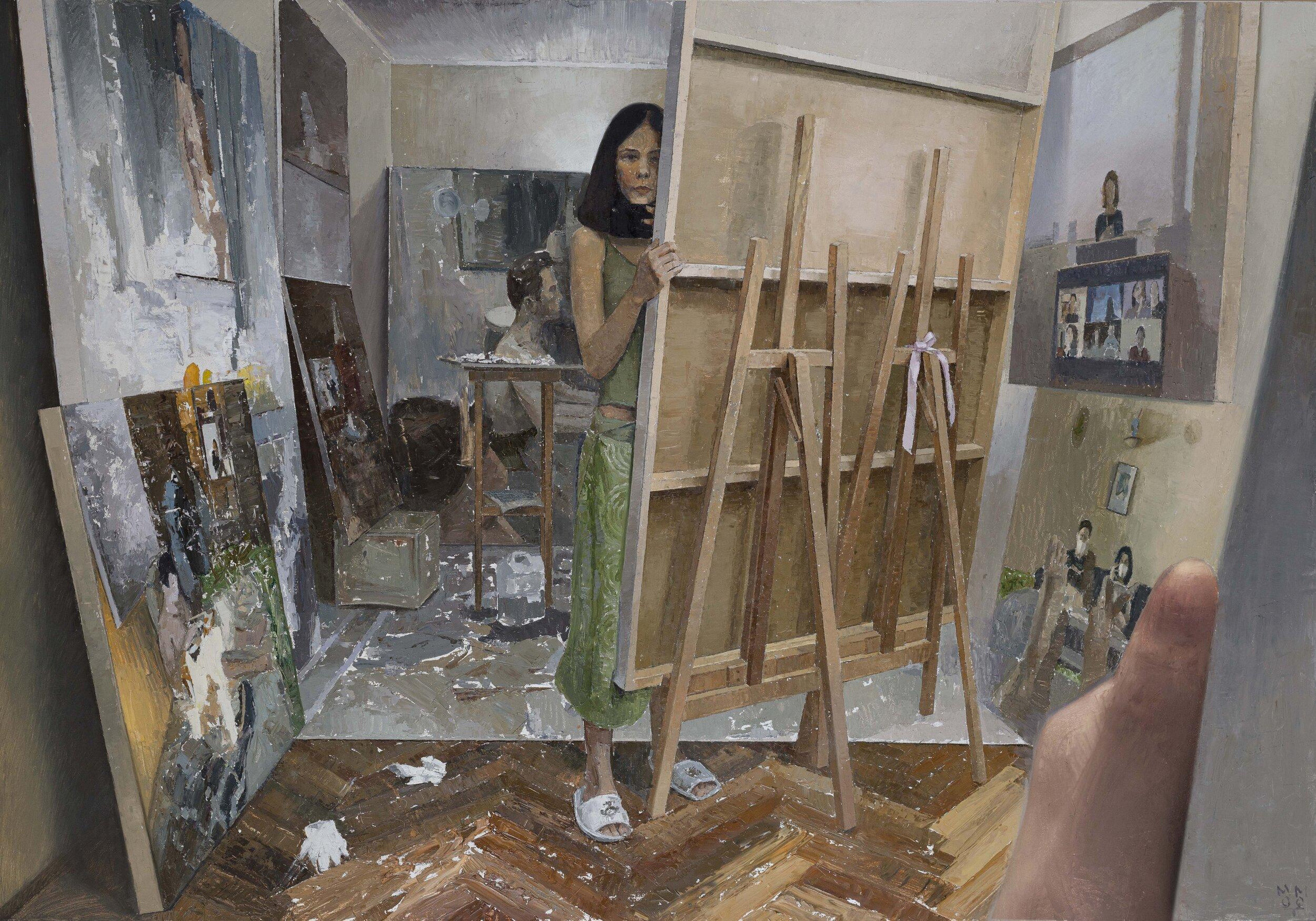 Дарина Мо Мот о творчестве, живописи и смелости быть художницей