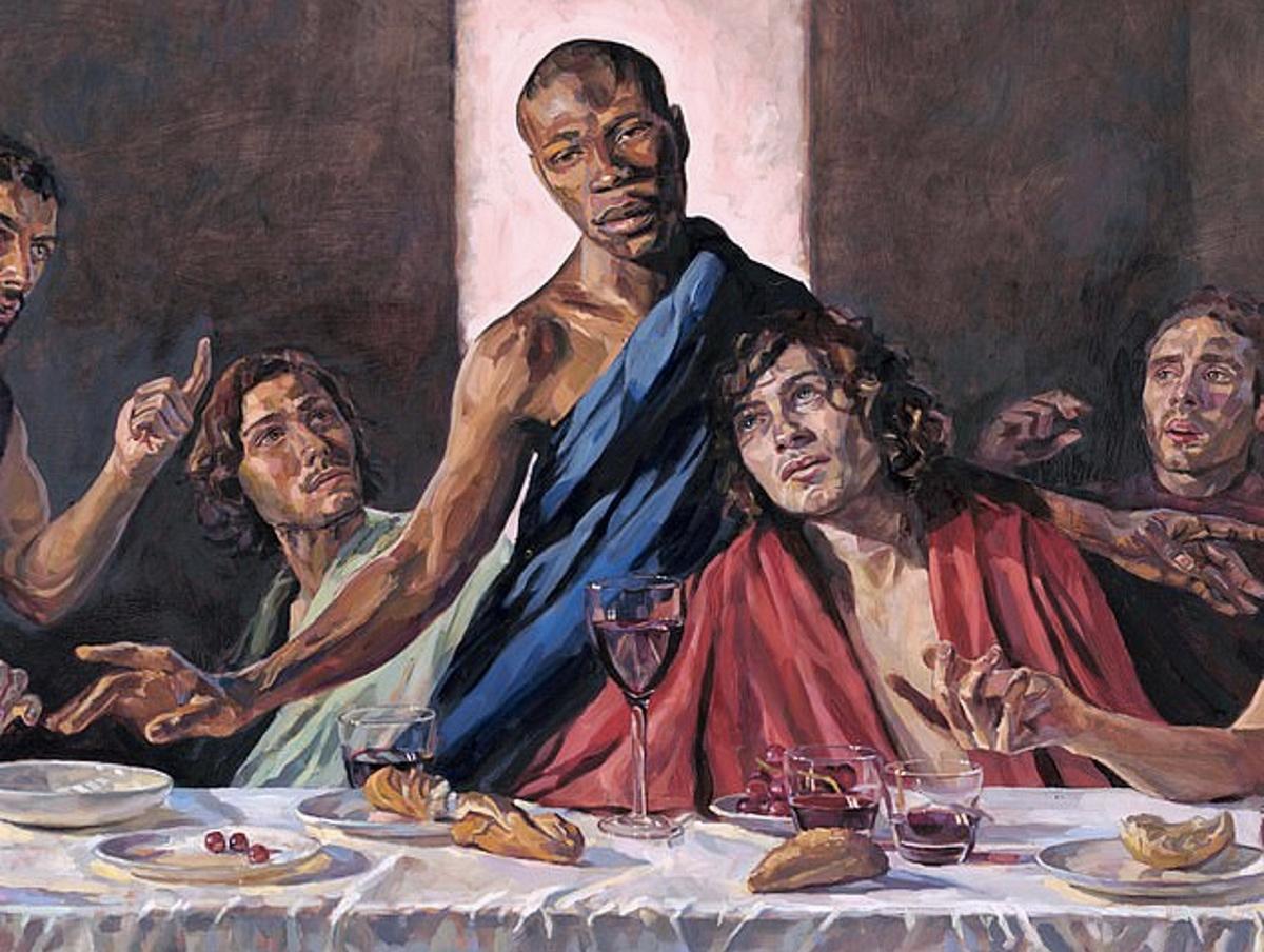 У Британії встановили «Таємну вечерю» з темношкірим Ісусом