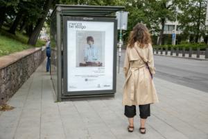У Литві почали рекламувати роботи художників на білбордах