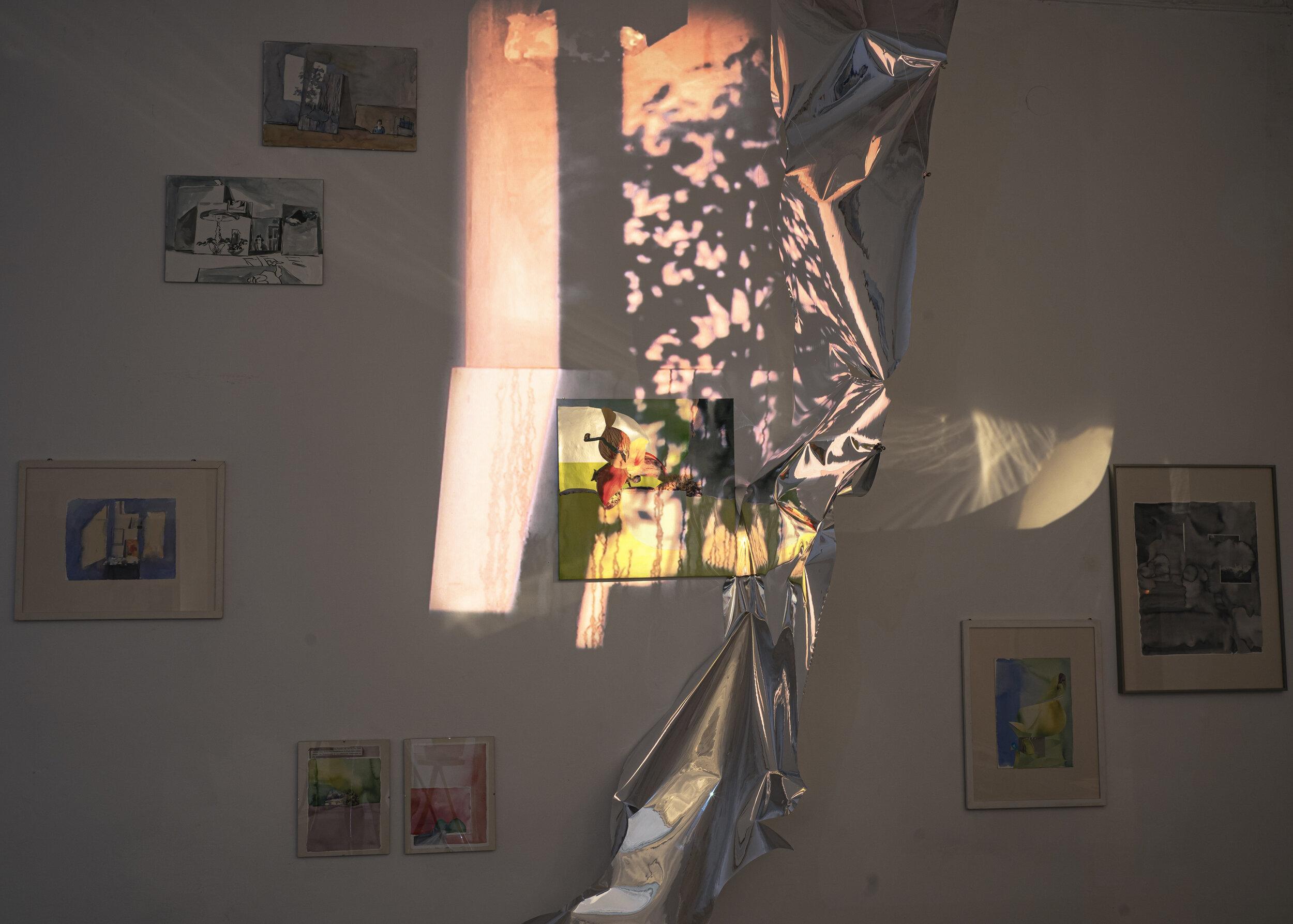 Проживати простір. Дарія Кузьмич про свою виставку «Твій контракт оренди розірвано»
