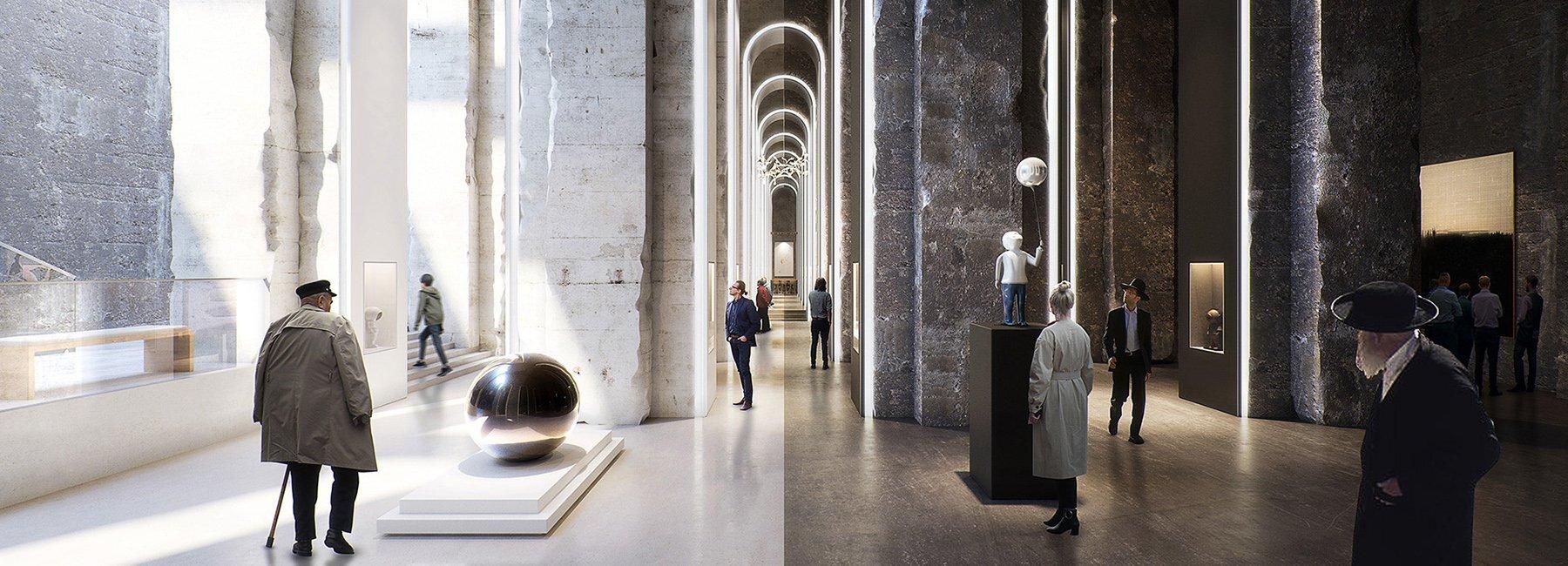 В Італії давньоримське водосховище перетворили на музей сучасного мистецтва