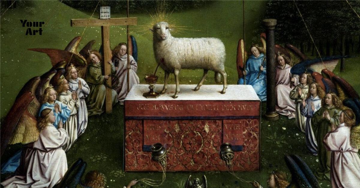 Людські риси у вівці на вівтарі братів Ейків — рішення авторів