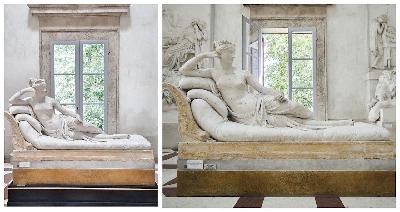 Австрійський турист, який пошкодив скульптуру в музеї, вибачився