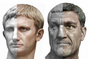 Дизайнер створив фотореалістичні портрети римських імператорів