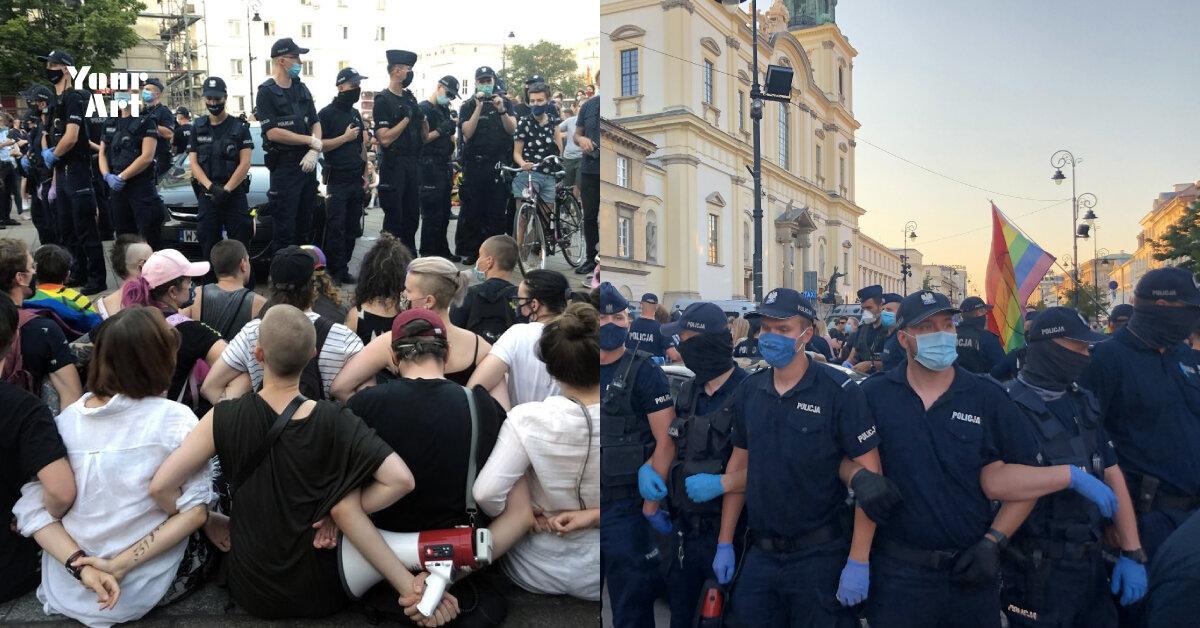 У Польщі вдруге заарештували небінарну активісту Малгожату Шутович