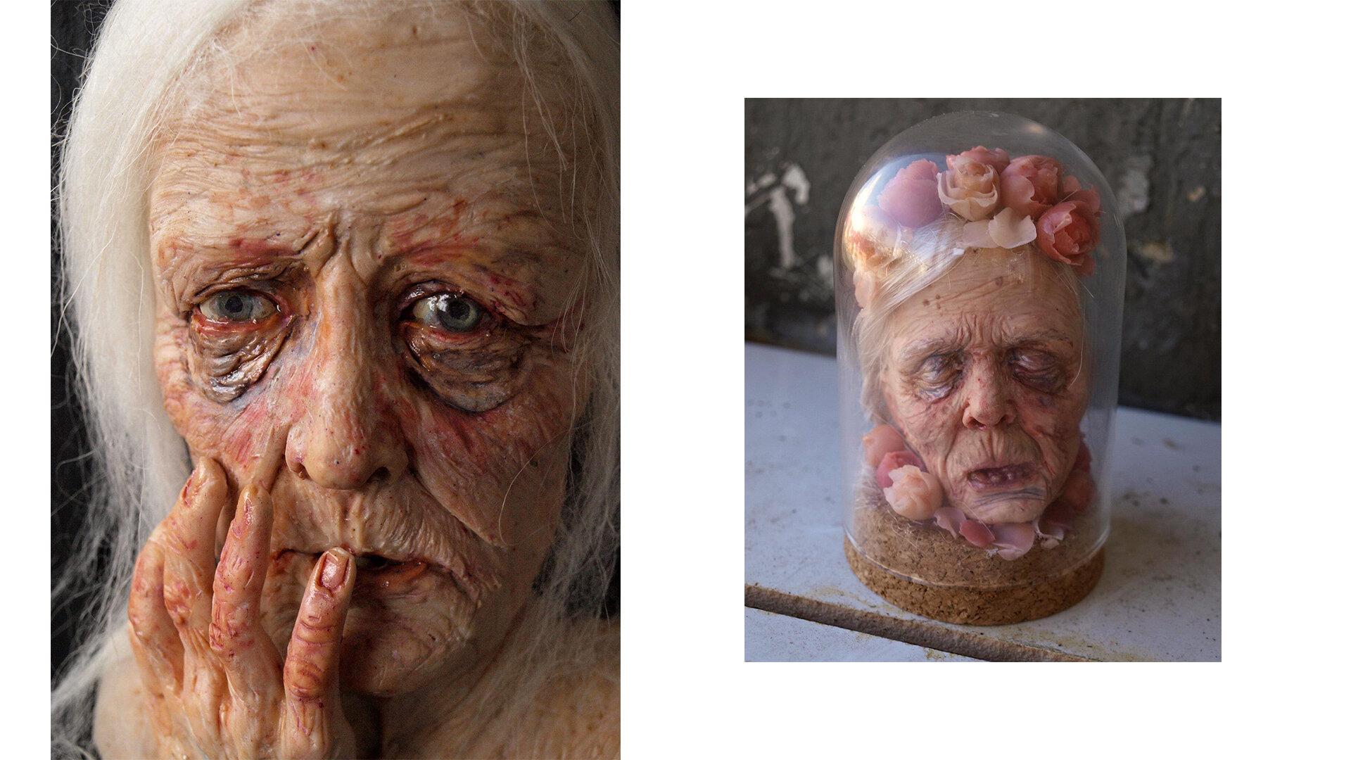 Please touch! Скульптура Поліни Вербицької